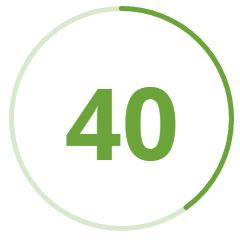 40-plazas